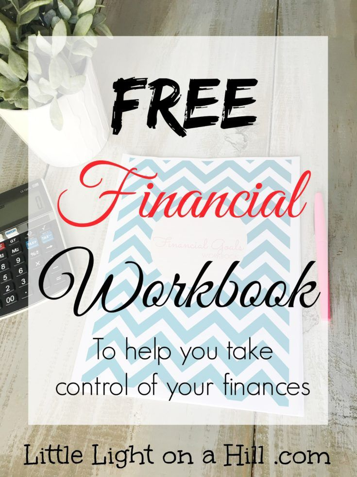 This FREE Finance Workbook helps you set goals and create a step by step plan to meet them! Make 2017 the year you get finally get control of your finances.