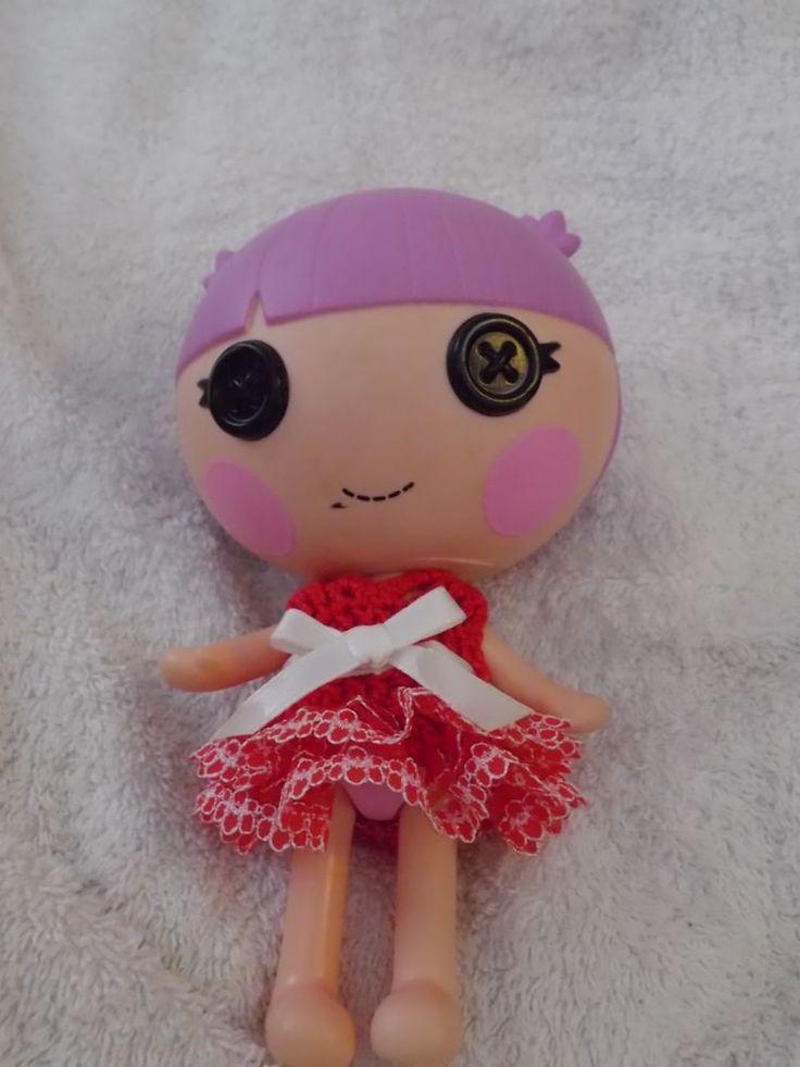 LalaLoopsy Little sister's dress hand crochet