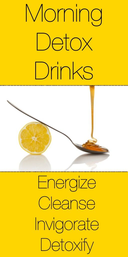 Awesome collection of morning detox drinks!