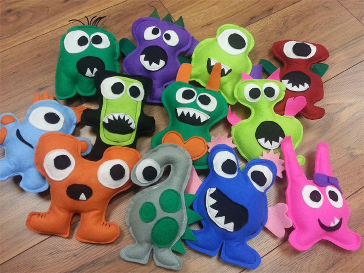 Handmade monsters - Johannesburg, South Africa, contact moni9ue@gmail.com