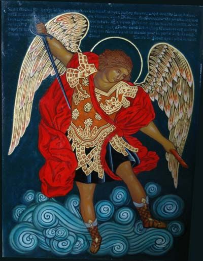 Saint Michael Archange ♣ MyLine & TiênDaï ArtStudio ►http://www.mylinetiendai-artstudio.be/mltdas_saint-michel.asp