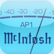 McIntosh AP1 Audio Player    McIntosh Labs is proud to introduce the AP1 AUDIO PLAYER - the first digital product from the legendary audio experts. The AP1 offers iPhone, iPad and iPod Touch owners the ability to listen to and playback music from their digital mobile device within the classic McIntosh experience.