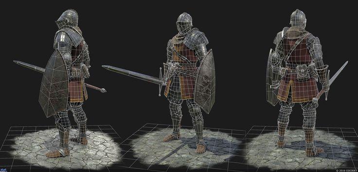 Knight — Компьютерная графика и анимация — Render.ru