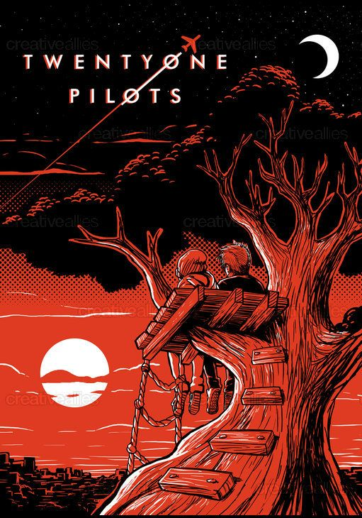 TWENTY+ONE+PILOTS+Poster+by+Ryanlioncollinson+on+CreativeAllies.com