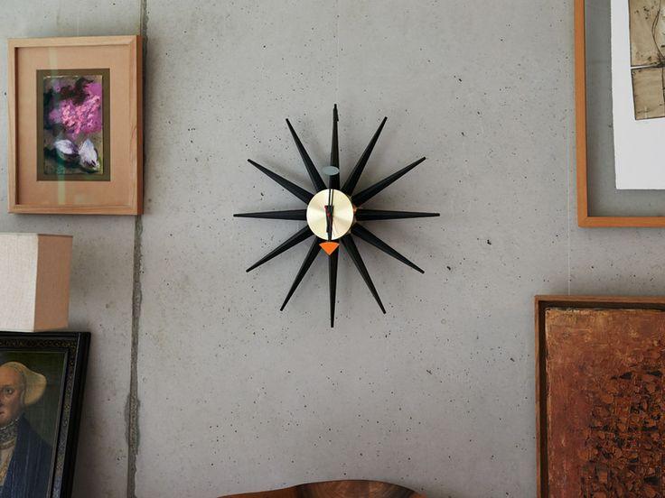Buy the Vitra Sunburst Wall Clock at Nest.co.uk