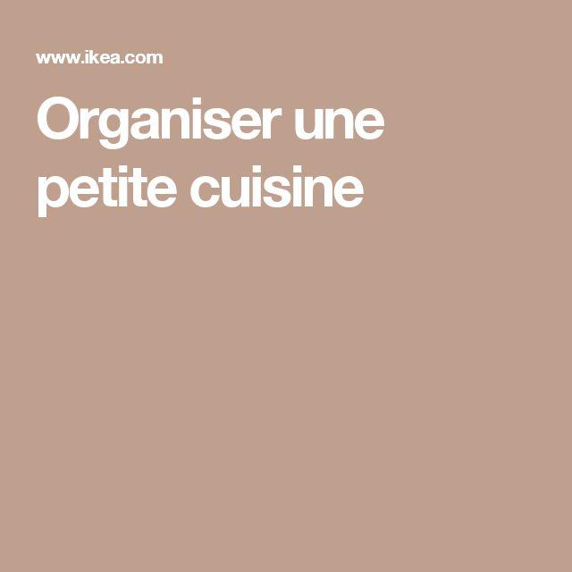 1000 id es sur le th me cuisine compacte sur pinterest for Organiser une cuisine