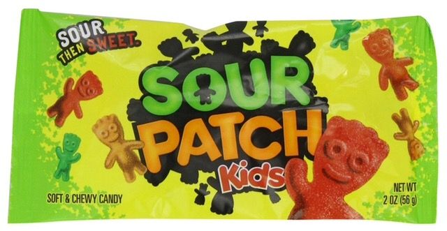 Sour Patch Kids are vegan