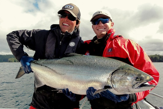 Langara Island Salmon Fishing Report: August 6, 2012