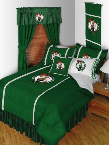 boston celtics 3 pc full queen comforter set 1 comforter and 2 pillow
