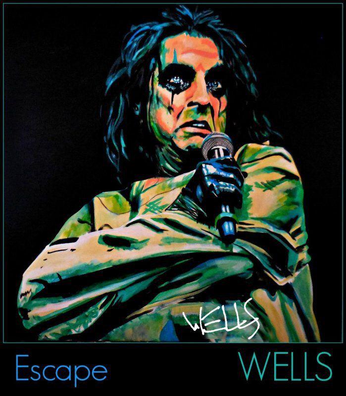 Rock Star Art by Stacey Wells