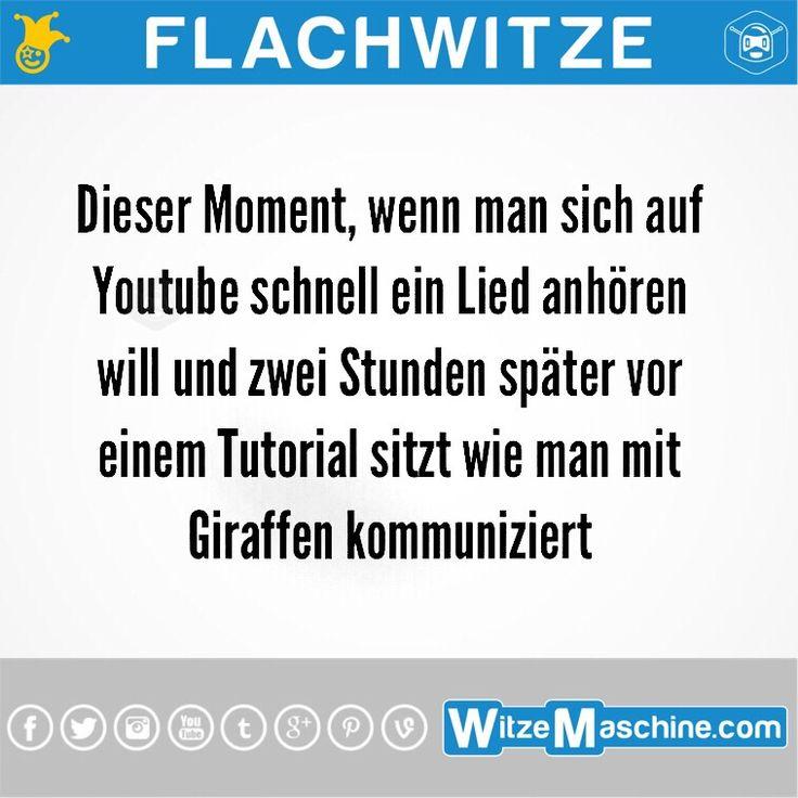 Flachwitze #232 - Dieser Moment bei Youtube