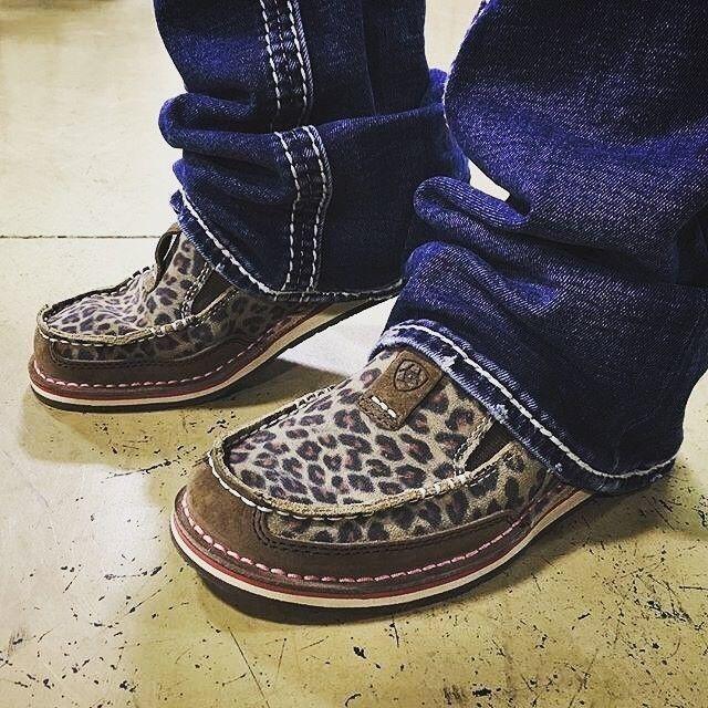 The new sassy and comfortable Ariat cheetah cruiser shoe
