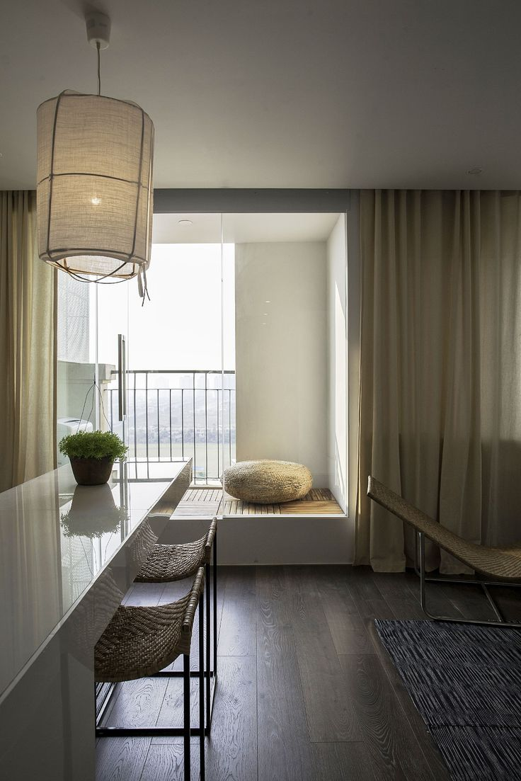 Apartment Renovation under Hanoi Interior Among Wooden Flooring Combined With Small Nook Furniture under Modern Style