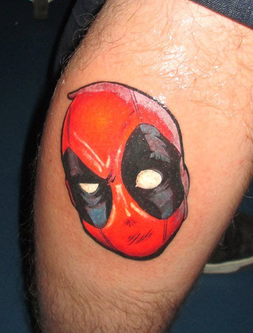 deadpool tattoo i made