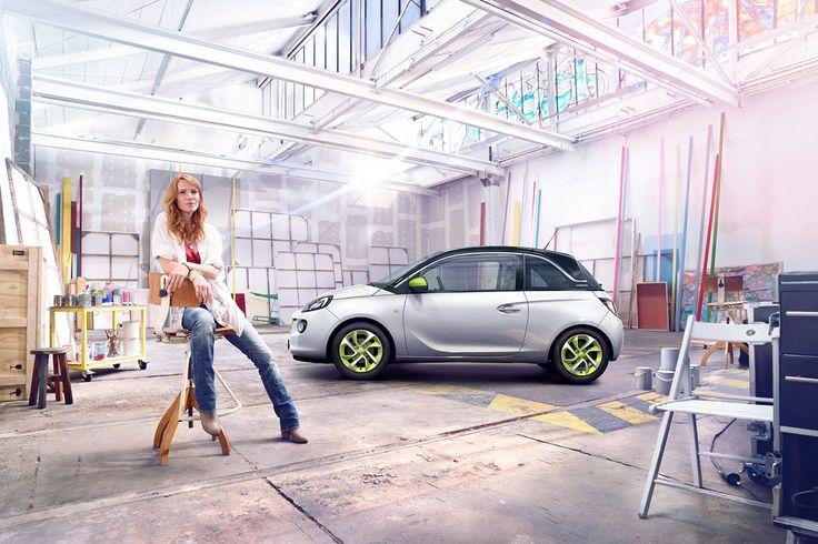 Opel Adam on Behance