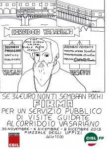 Il Corridoio Vasariano: passaggio segreto per gli interessi privati. Un articolo di Tomaso Montanari contro la decisione di affidare le visite guidate a un concessionario privato