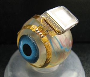 Carnegie Mellon professor has developed a retinal prosthesis that restores sight to the blind: