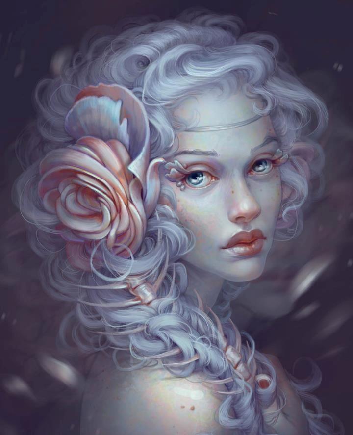 Anime Girl Hair Colors: Jennifer Healy – Digital Art