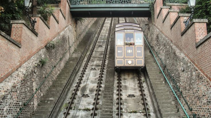 Budavári Sikló / Buda Castle Hill Funicular. (1st district, Budapest capital)