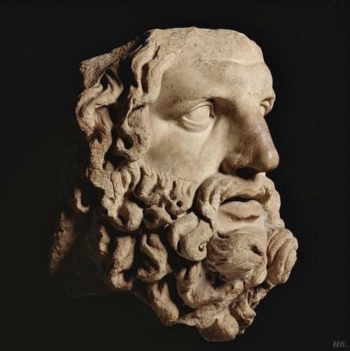 Head of Zeus. Roman fragment