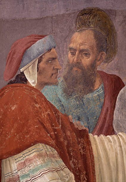 Disputation with Simon Magus and Crucifixion of Peter by Filippino Lippi 14821485 15th century fresco 230 x 598 cm Italy Tuscany Florence Church of...