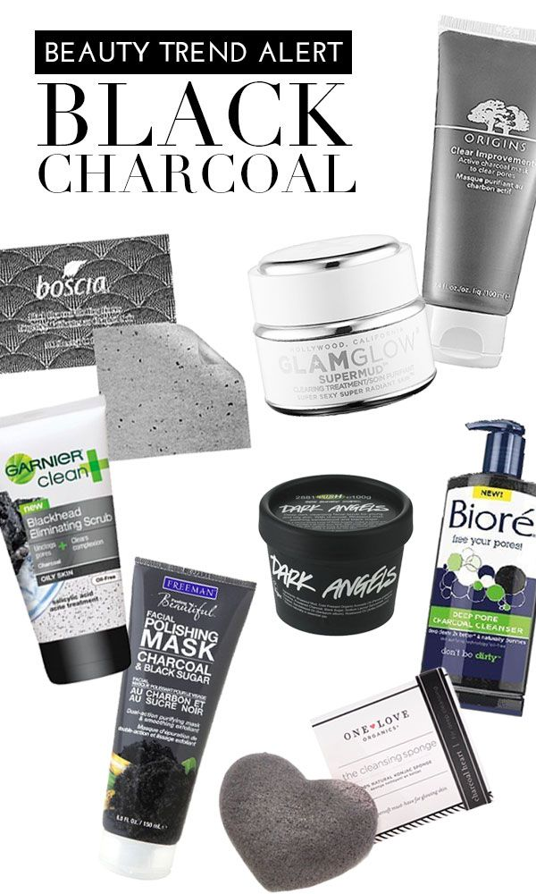 Beauty Trend Alert: Black Charcoal . I swear by the Origins Clear Improvement #blackcharcoal