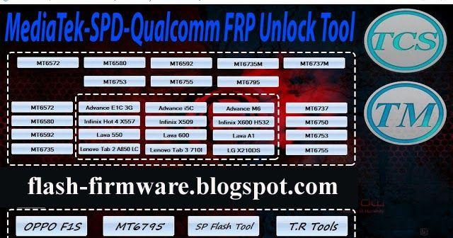 DownloadMediaTek SPD Qualcomm FRP Unlock Tool Feature: Tools List SP