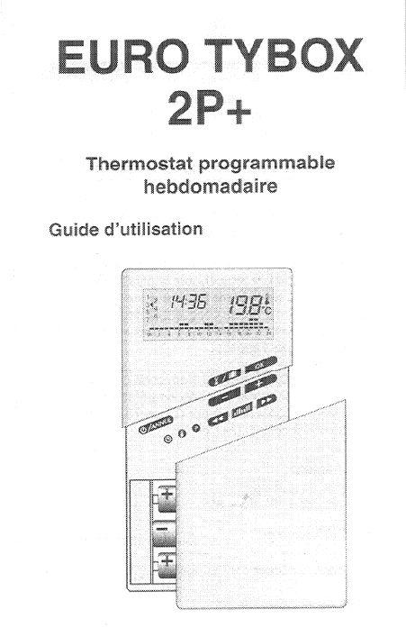 Mode D Emploi Delta Dore Euro Tybox 2p Thermostat Français