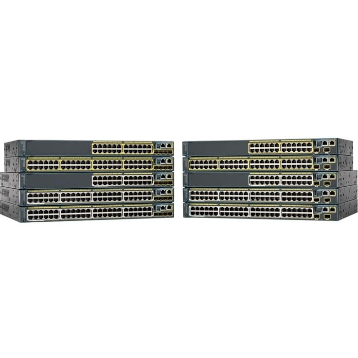 Cisco Catalyst WS-C2960S-48FPS-L Stackable Ethernet Switch