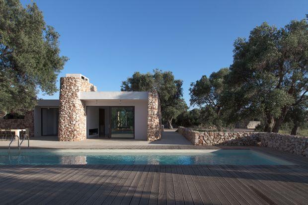 La casa nel bosco di ulivi - Articolo di AtCasa.it