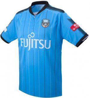 Kawasaki Frontale 2017-18 Season Home Blue J.LEAGUE Shirt Jersey [J804]