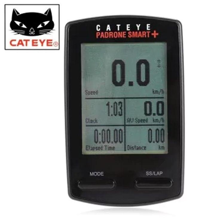 CATEYE Padrone Smart + CC - SC100B Auto Power Saving Mode Wireless Bike Computer