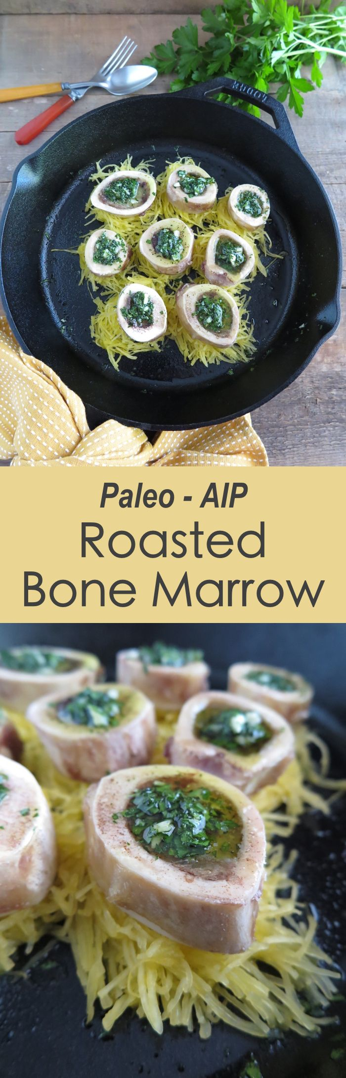 | Roasted Bone Marrow (AIP, Paleo, GAPS) | http://asquirrelinthekitchen.com
