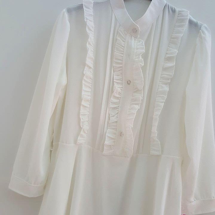 #camicia #bianca #volant #valeria #abbigliamento
