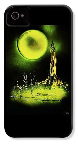 Land Of Rituals IPhone 4 / 4s Case  Printed with Fine Art spray painting image Land Of Rituals by Nandor Molnar (When you visit the Shop, change the orientation, background color and image size as you wish)