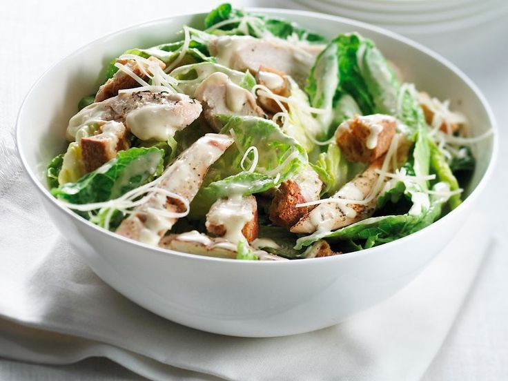 Delicious Chicken Caesar Salad