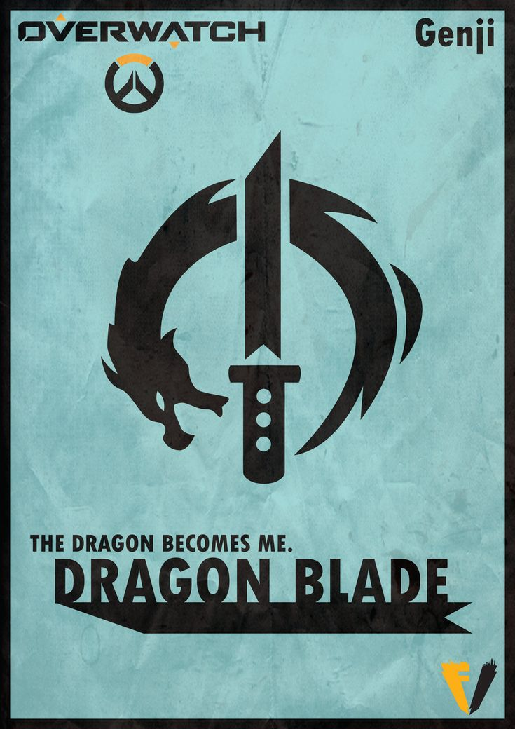 Overwatch Genji - Dragon Blade  by FALLENV3GAS on DeviantArt