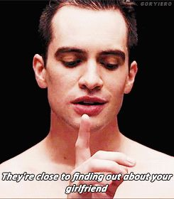 panic! at the disco brendon urie   gifs for dayz!!