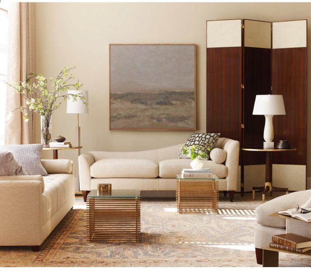 Thomas Pheasant Living Room By Baker Furniture