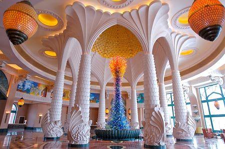 Lobby inside the Atlantis The Palm #Dubai