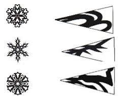 Afbeeldingsresultaat voor как сделать снежинки из бумаги схемы