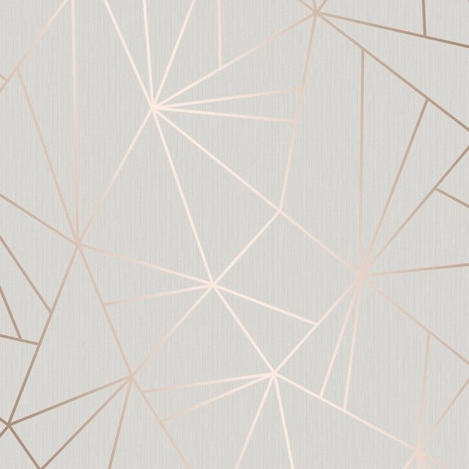 Camden Apex Glitter Wallpaper Rose Gold (H980544)