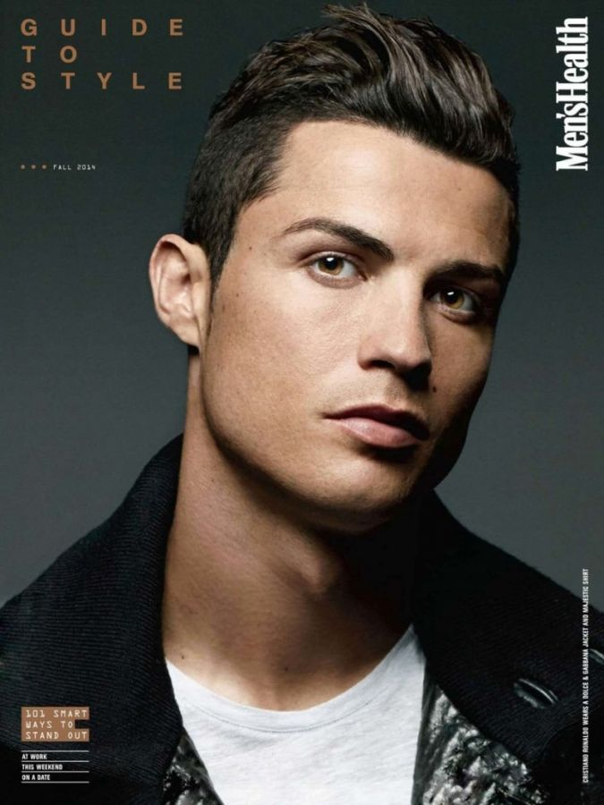 Shirtless Cristiano Ronaldo Covers The September Issue Of 'Men's ...