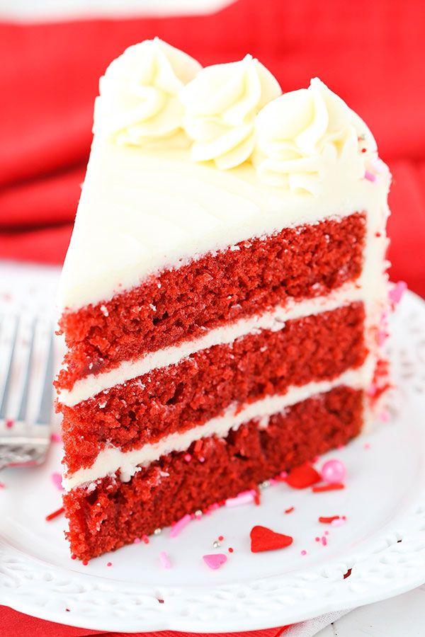 Red Velvet Layer Cake Easy Red Velvet Cake Recipe Recipe Velvet Cake Recipes Red Velvet Cake Recipe Cake