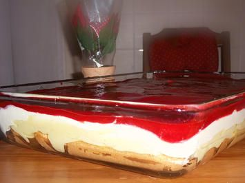 Himbeer-Schicht-Dessert - Rezept