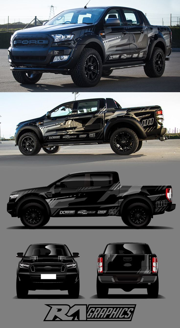 Ra wrap design ford rangervehicle