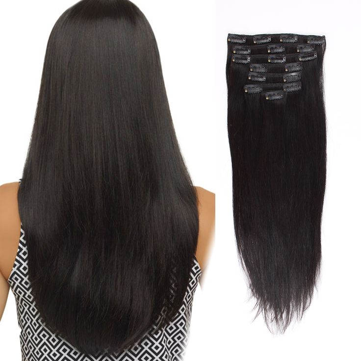 Amazing Beauty Hair Extensions Clip In Extension Silky StraightUSE Discount Code LXABHE Get