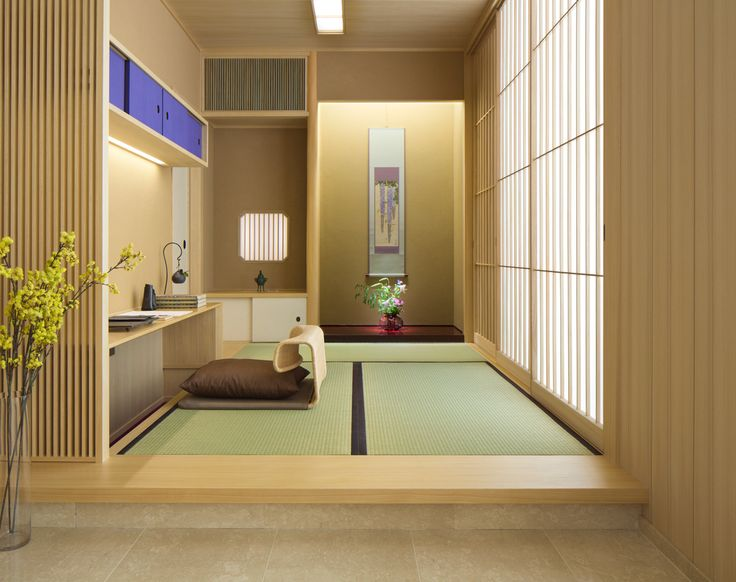 K/O Design Studio are shortlisted in the International Design & Architecture Awards 2014 The small tatami room, connected to a larger living space, is a contemporary version of an old Shion study room.