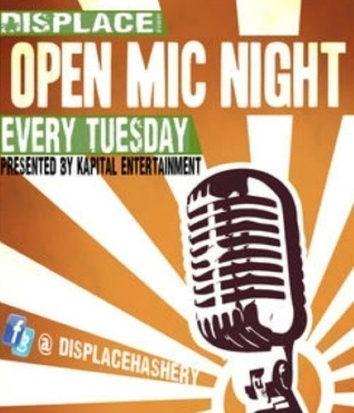 Open Mic TUESDAYS DISPLACE HASHERY