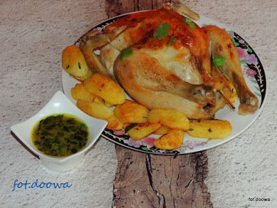 Moje Małe Czarowanie: Kurczak pieczony według receptury Hestona Blumenth...